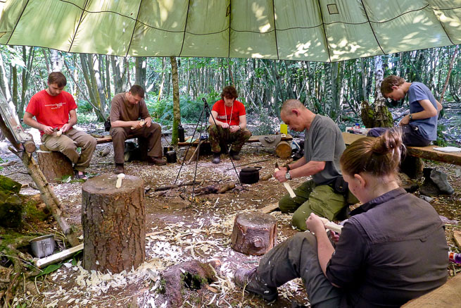 Image result for bushcraft course