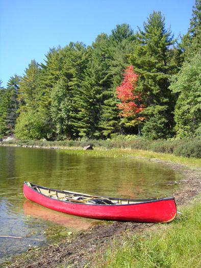 Canoe in Canada
