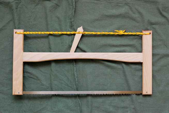 Folding bucksaw