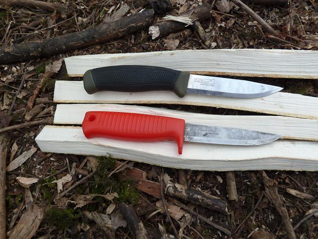 Two Mora knives