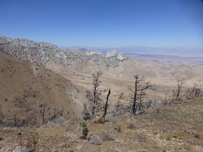 PCT desert Mexico
