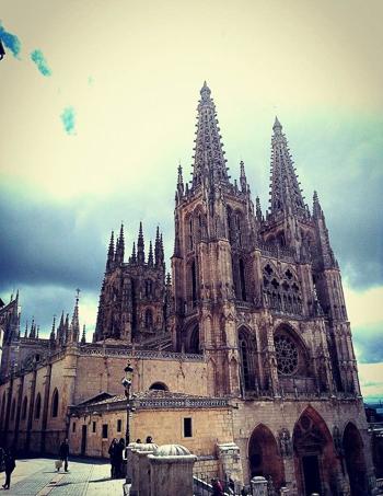 Cathedral of Santiago de Compostela in Galicia, northwestern Spain