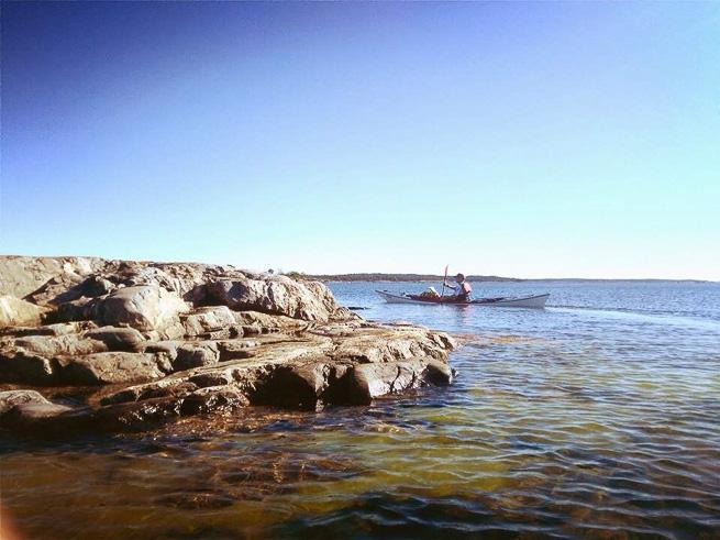 paddling on the archipelago